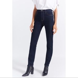 Current Elliot stovepipe straight leg jeans